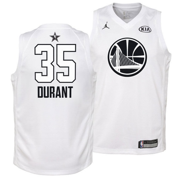 acb7e5405c4d Golden State Warriors Kevin Durant All-Star Jersey